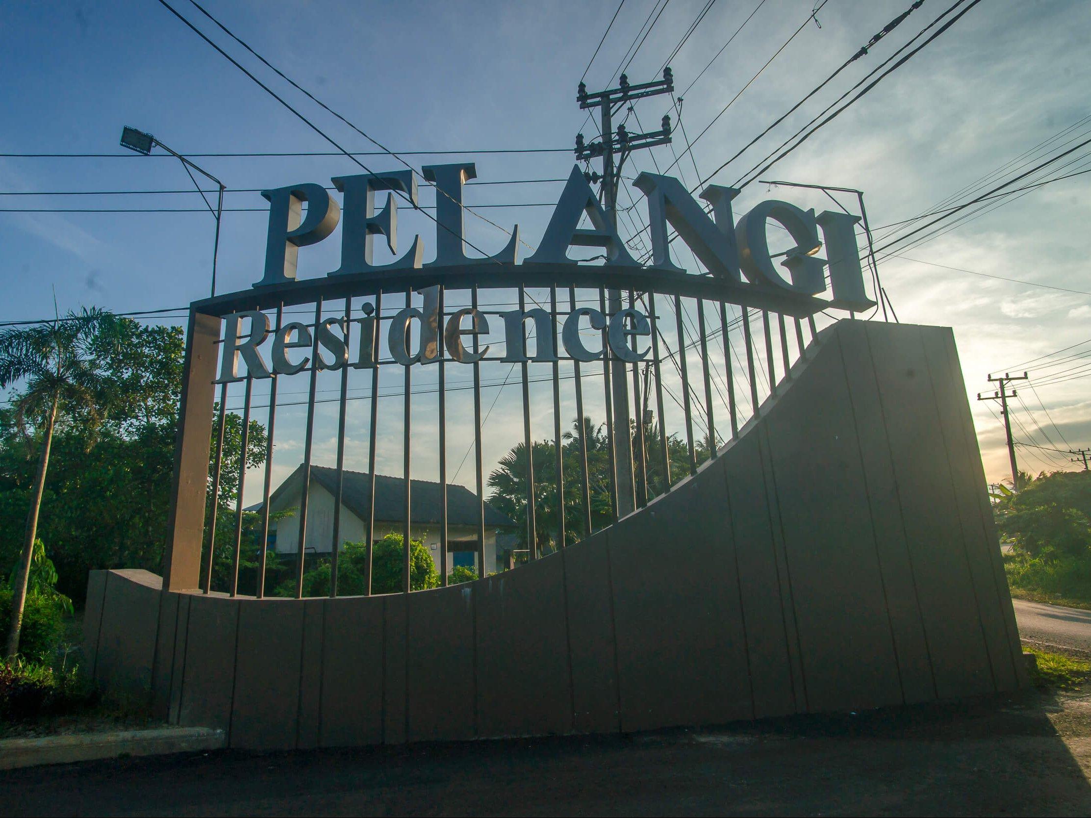 Main Gate Pelangi Residence
